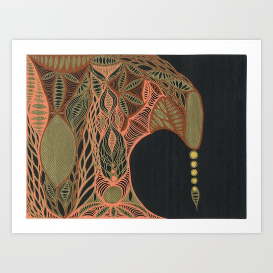 Thinking of Vienna Art Print