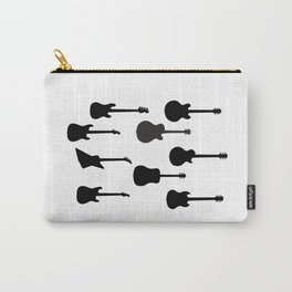 Rock Guitar Silhouettes Carry-All Pouch