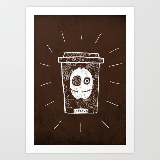 Dia de los muertos to take-out No.2 Art Print