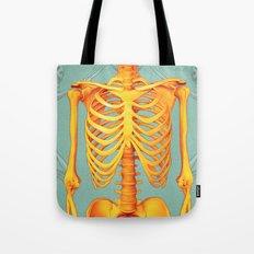 Skeleton II Tote Bag