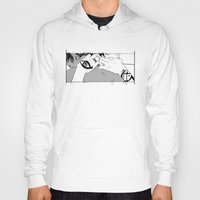 yaoi Hoodies featuring Embrace by Cassandra Jean