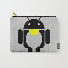 linux Tux penguin android  Carry-All Pouch