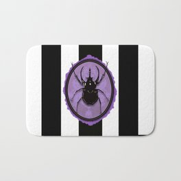 Juicy Beetle PURPLE Bath Mat
