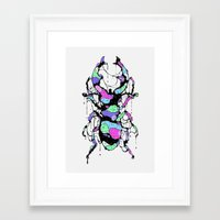 bug Framed Art Prints featuring BUG by maivisto