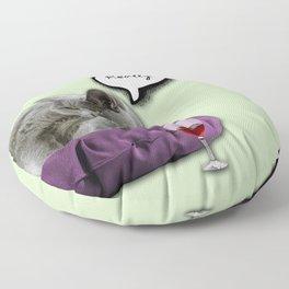 DRUNKY CAT Floor Pillow