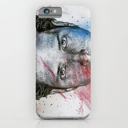 Pretty Noose: Red & Blue: Tribute to Chris Cornell iPhone Case