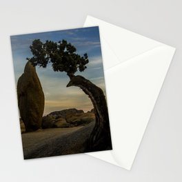 Juniper Tree in Joshua Tree National Park Stationery Cards