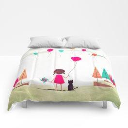 Floating Comforters