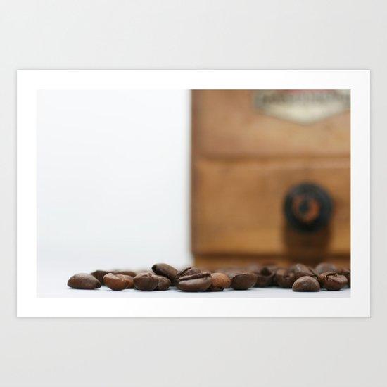 Coffeetime Art Print