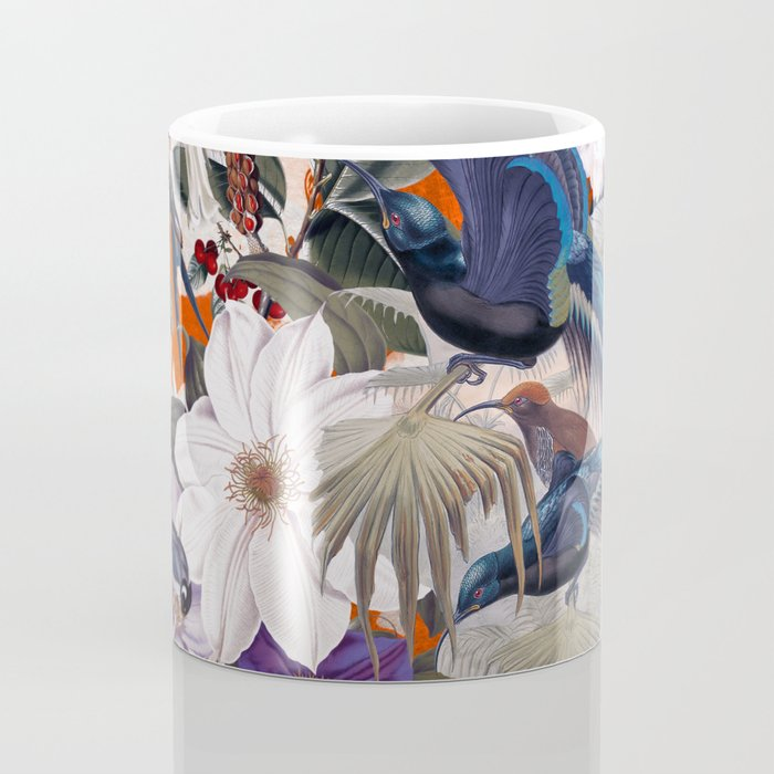 Floral and Birds XXVI Coffee Mug