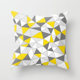 pattern-T Throw Pillow