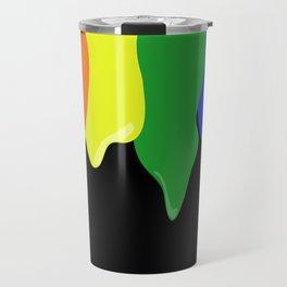 Watch the Paint Drip Travel Mug