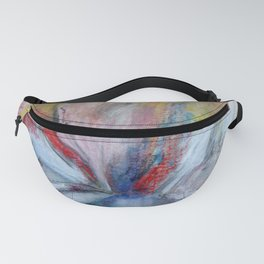 Layered Panels Fanny Pack