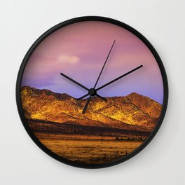 Photon Landslide Wall Clock