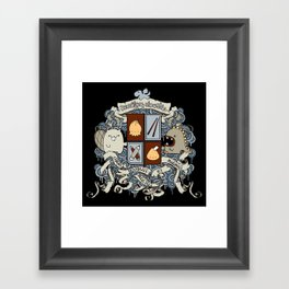 All Doodles Great & Small Framed Art Print