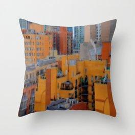 Urbanization No.1 Throw Pillow