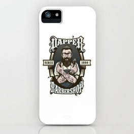 Vintage Labels Hispter Style iPhone Case