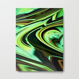 """Color Trails 2"" Metal Print"