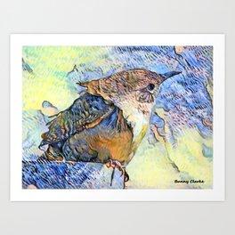 Sing Little Wren Art Print