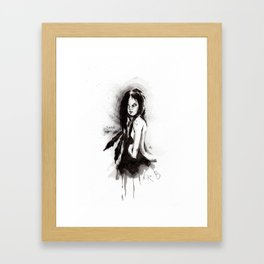 Tristes Armas (Sketch version) Framed Art Print