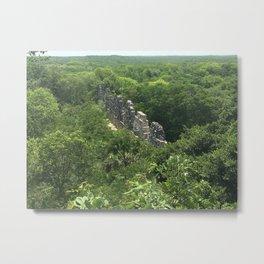 Uxmal Ruins Metal Print