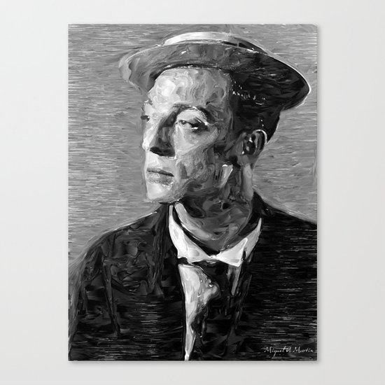 Hollywood - Buster Keaton Canvas Print
