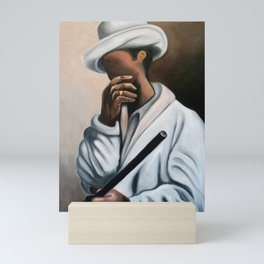 Tribute to Benny More. Miguez art Mini Art Print