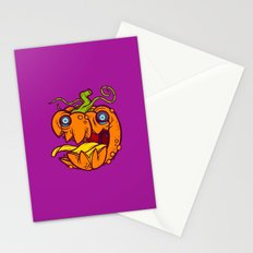 Lil' Bad Pumpkin Stationery Cards