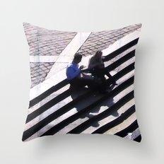 v1bsyn Throw Pillow