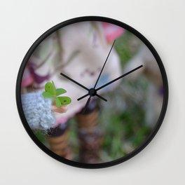 Blythe - A pinch of luck Wall Clock