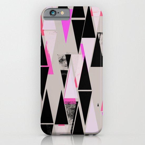 Pink Triangles II iPhone & iPod Case
