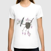 hummingbird T-shirts featuring Hummingbird by Nancy Smith