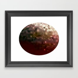 Planet Pixel 1 Framed Art Print