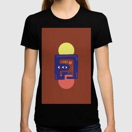 Mother Earth - Minimal Modern Mid-Century Snake T-shirt