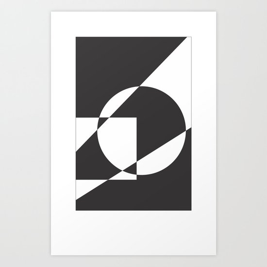 Geometrical Art Print