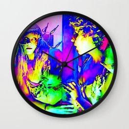 Mirror Image (almost) Wall Clock