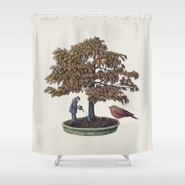 Enchanted Bonsai Shower Curtain