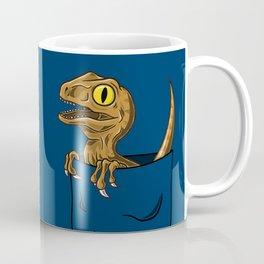 Pocket Raptor (Jurassic Park Velociraptor) Coffee Mug