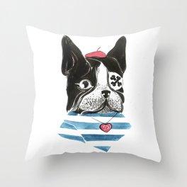 Mlle Panchita Throw Pillow