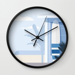 Seaside Nº 1 Wall Clock