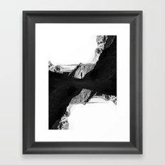 Man of isolation Framed Art Print