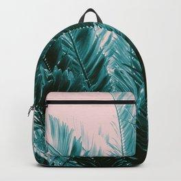 Tropical Leaves Dream #6 #tropical #decor #art #society6 Backpack