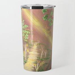 Faery forest cave Travel Mug