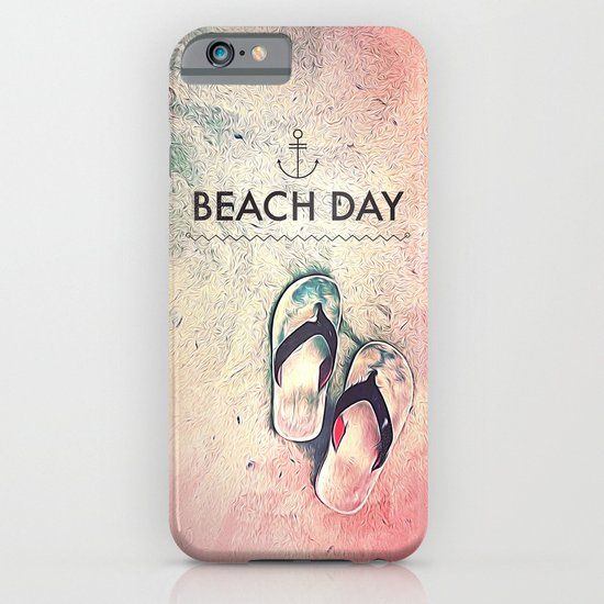 Beach Day iPhone & iPod Case