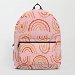 Rainbow Print Backpack