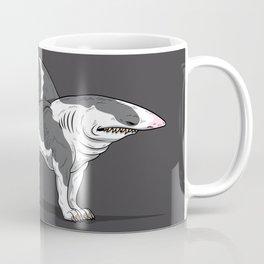 Pit Bull Shark Coffee Mug