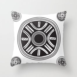 Cucuteni Legacy Throw Pillow