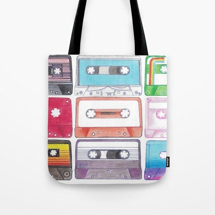 Cassettes Tote Bag
