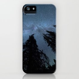 Celestial Starlight In The Forest Near Lake Irene Colorado iPhone Case