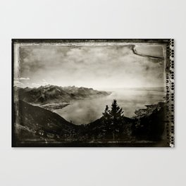 Vintage Switzerland Canvas Print
